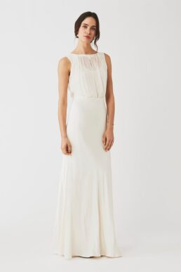 Ghost Hollywood Claudia Dress, Ivory