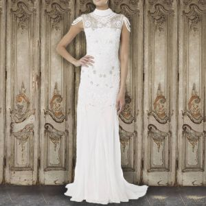 Raishma Fallen Strap Bridal Gown White