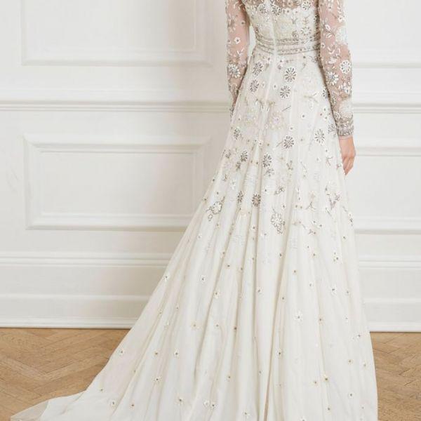 Needle & Thread Victorian Bridal Gown, Ivory | myonewedding.co.uk