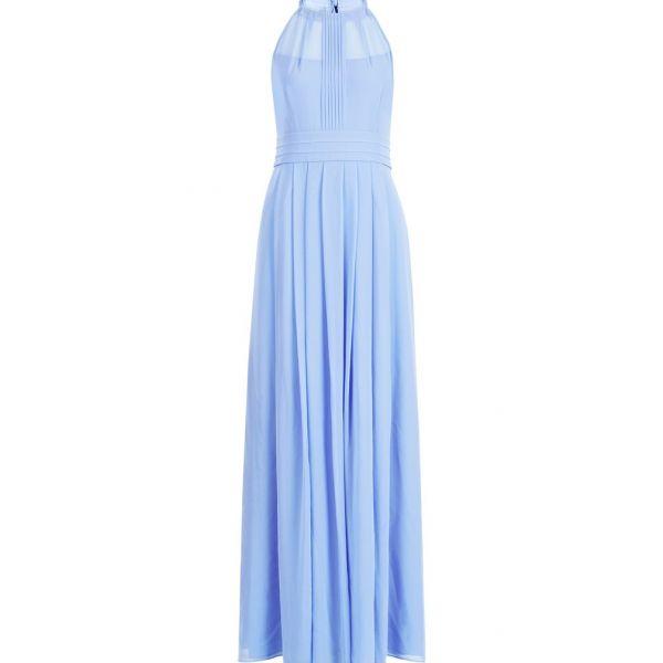 Hobbs Alexis Maxi Dress Cornflower Blue