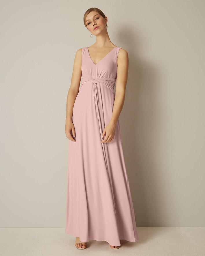 Beautiful Pink Bridesmaid Dresses
