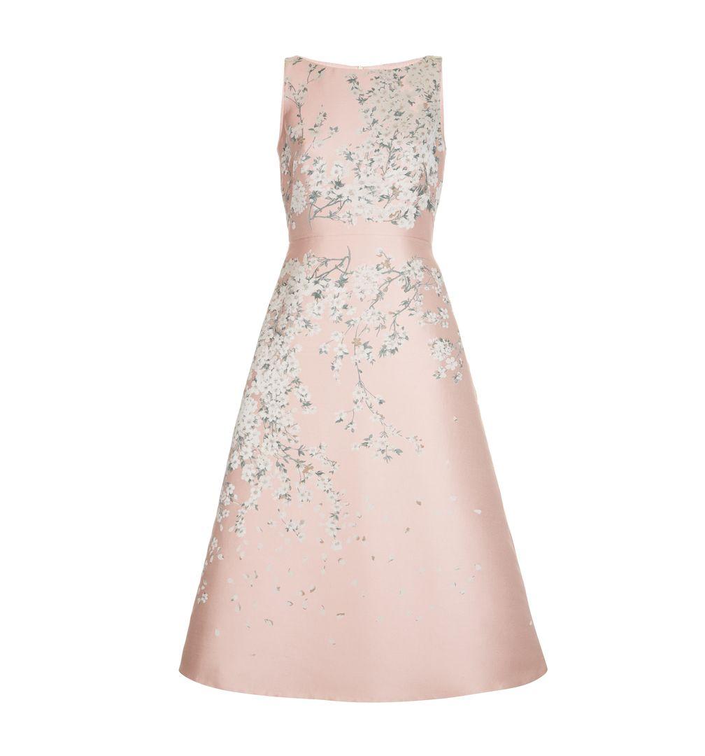 Hobbs Limited Edition Pink Julietta Short Floral Dress