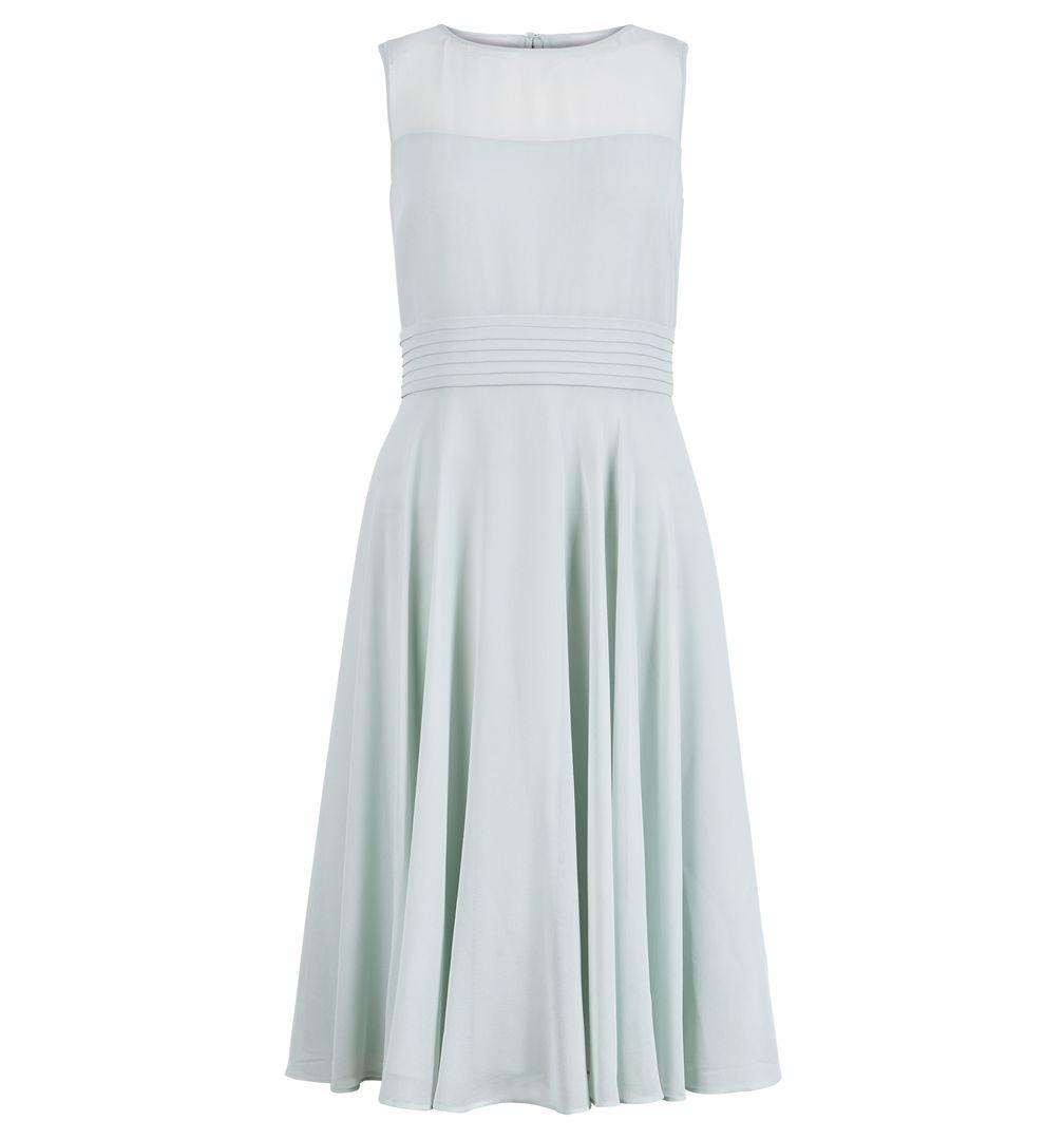 Hobbs Ashling Mint Bridesmaid Short Dress