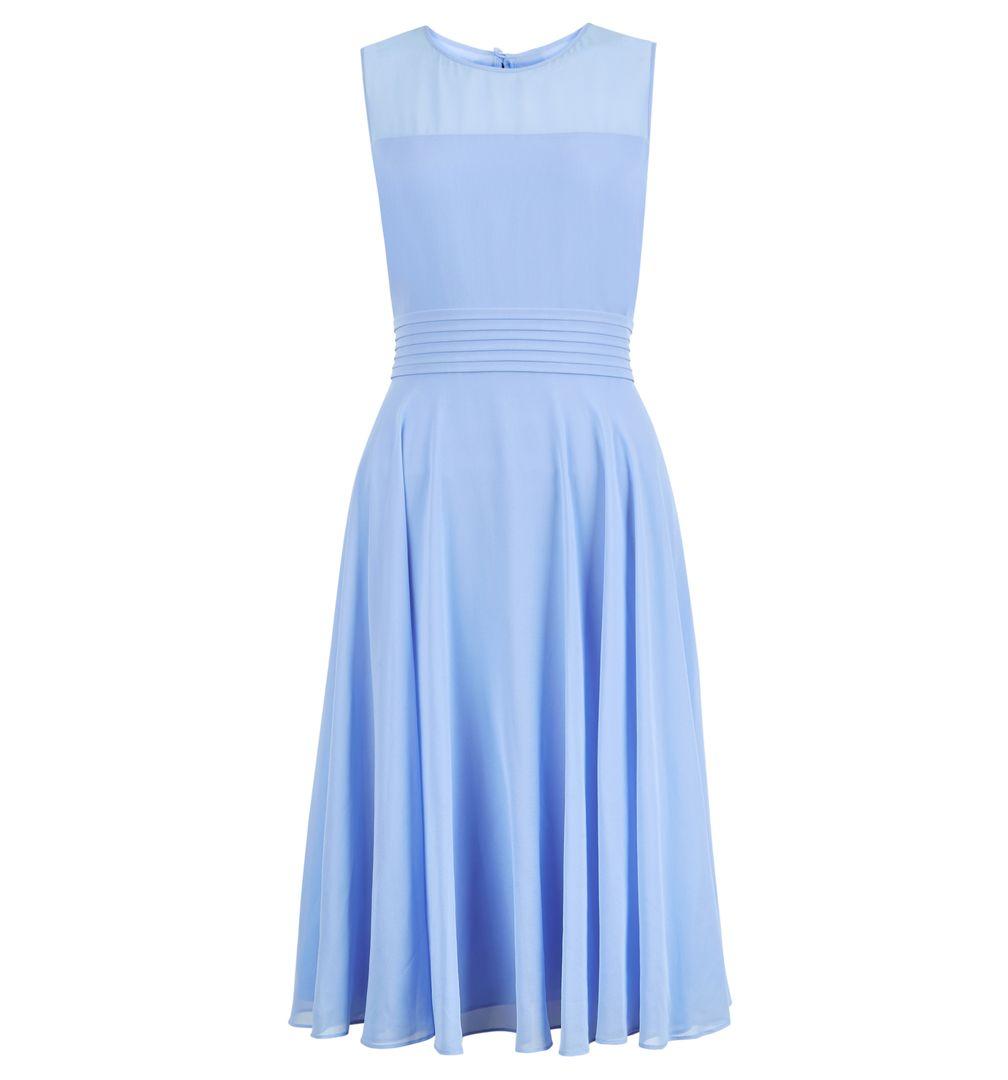 Hobbs Ashling Cornflower Bridesmaid Short Dress