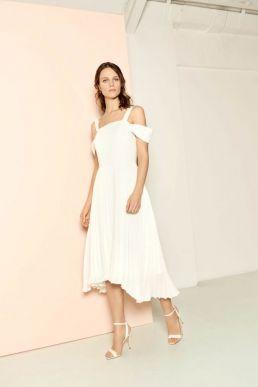 Whistles Clementine Wedding Dress, Ivory