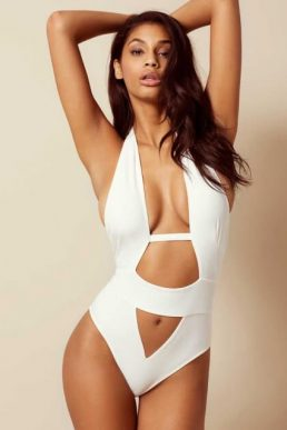 Agent Provocateur Anja Swimsuit White