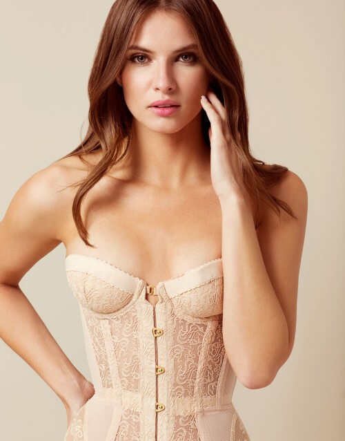 Agent Provocateur Mercy Corset Nude