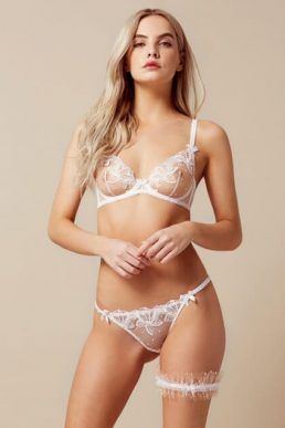 Agent Provocateur Nellie Bridal Brief White