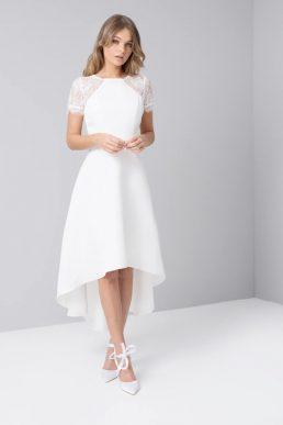 Chi Chi Meara Lace Dress White