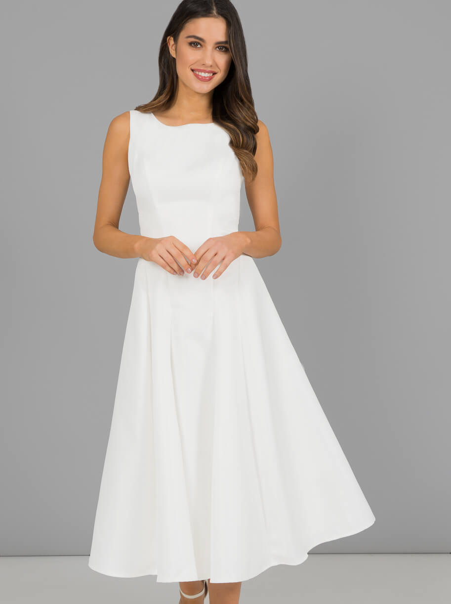 25d785f4846b Chi Chi Short Denton Bridesmaid Dress White