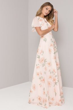 Chi Chi Jessamine Dress Cream Multi