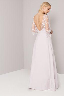 Chi Chi Shania Lace Bridesmaid Dress Blush Pink