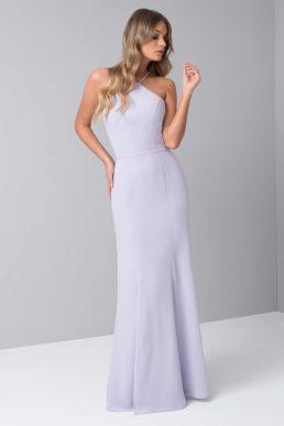 Chi Chi Sidney Bridesmaid One Shoulder Dress Lilac