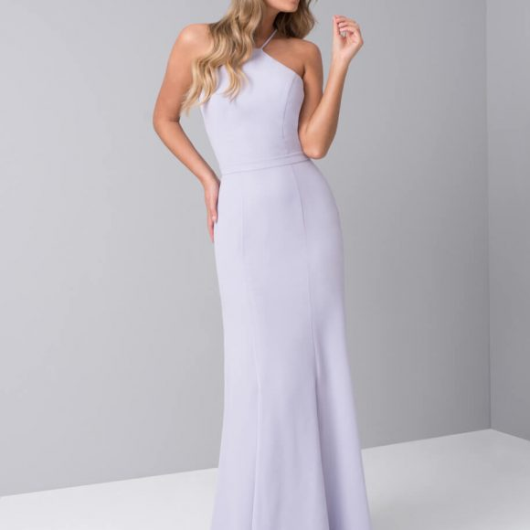 Chi Chi Sidney Bridesmaid One Shoulder Dress Lilac