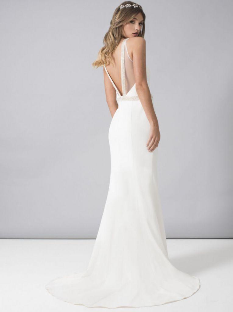 bb2ad8823 Chi Chi Bridal Hannah Wedding Dress, White | myonewedding.co.uk