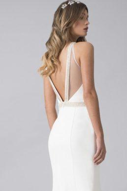 Chi Chi Bridal Hannah Wedding Dress White