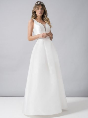 Chi Chi Bridal Marla Dress White