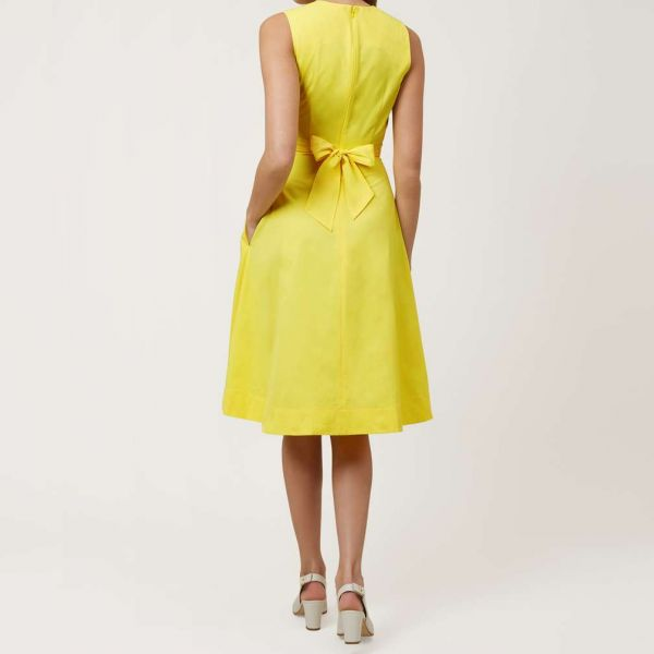 Hobbs Twitchill Dress Yellow