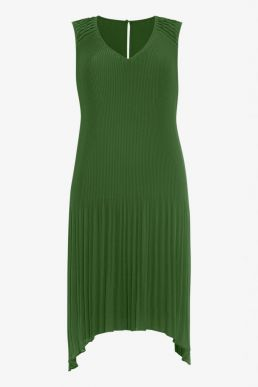 Phase Eight Amalie Pleated Dress Green