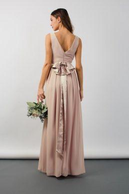 TFNC Kily Whisper Maxi Bridesmaid Dress Blush Pink
