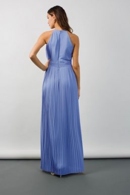 TFNC Serene Bridesmaid Maxi Dress Blue Bell Cornflower Blue