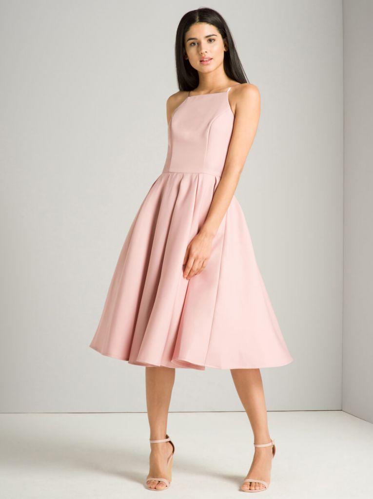 71fed40b9192 Chi Chi Adele Bridesmaid Dress Pink