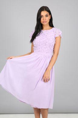 Chi Chi Kiara Short Bridesmaid Dress Purple Lilac
