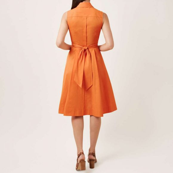 Hobbs Alesha Dress Orange