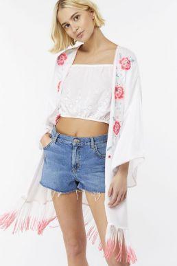 Beachcomber Wow Kimono White