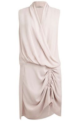 AllSaints Cathea Shift Dress Light Pink Blush