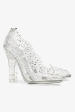 Dolce & Gabbana transparent Bette 105 PVC crystal pumps