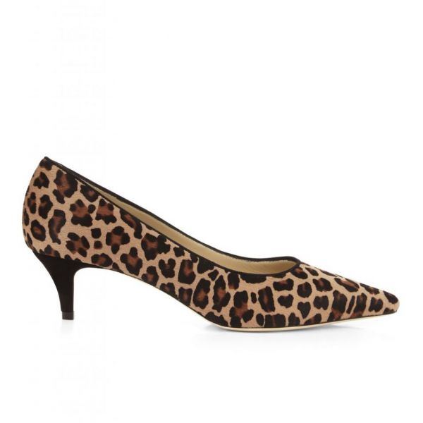 Hobbs Annie Leopard Court Brown Beige