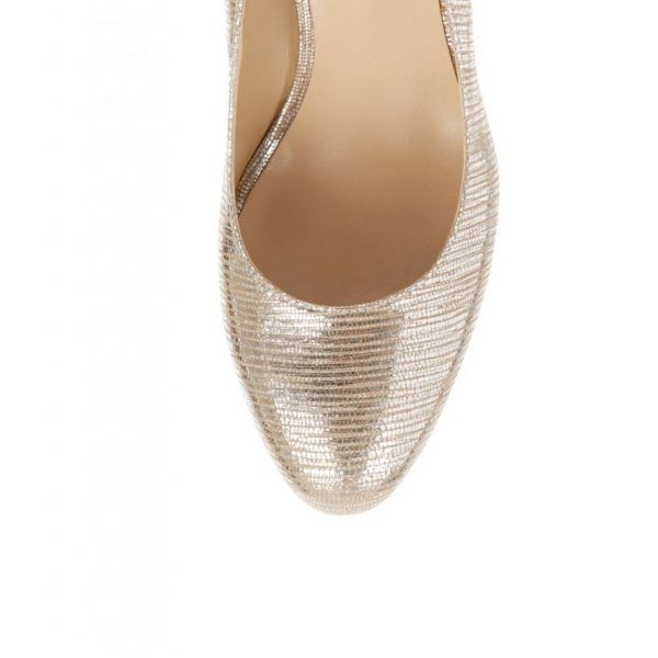 Hobbs Julietta Court Silver Metallic