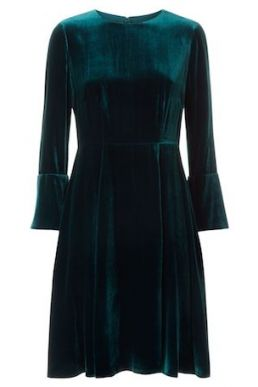Hobbs Zinnia Dress Teal