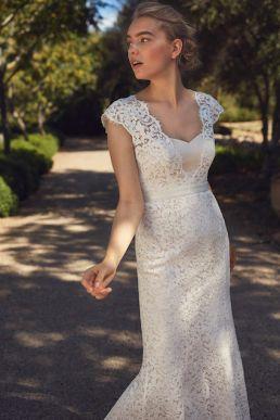 Phase Eight Maegen Lace Wedding Dress Ivory