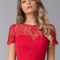 c970b26615f7 Chi Chi Oti Bridesmaid Lace High Low Dress