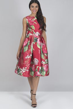 Chi Chi Yuliana Floral Dress Pink Multi