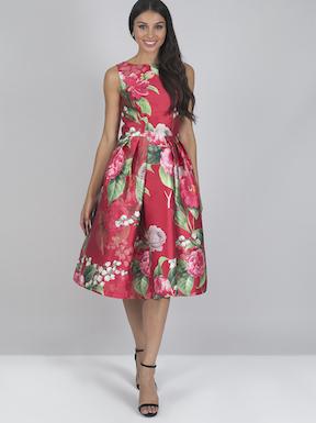 Chi Chi Yuliana Floral Dress Pink Multi