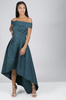Chi Chi Petite Beryl Dress Teal Green