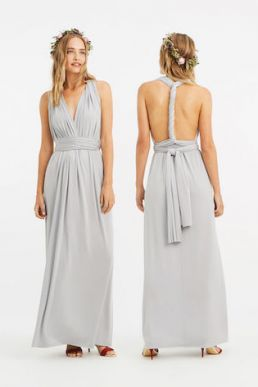 Oasis Annie Multiway Bridesmaid Maxi Mint