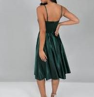 Chi Chi Suzie Cami Strap Dress Green