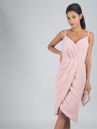 Chi Chi Sabreena Dress Pink Blush