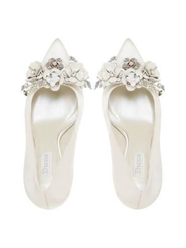 885c50449b8b Dune Bridal Collection Brydee Flower Garden Court Shoes