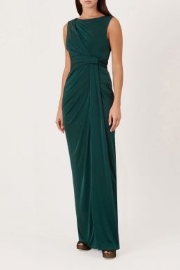 Hobbs Mia Maxi Dress Green