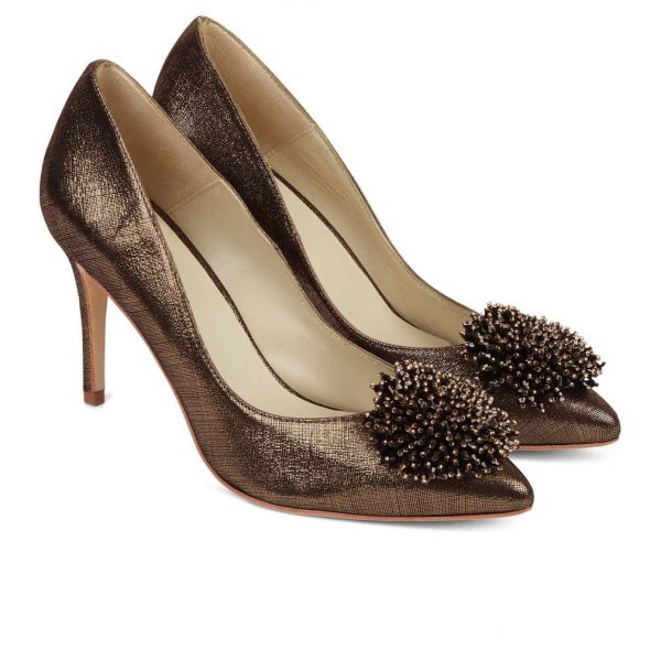 Hobbs Ayla Court Shoe Gold