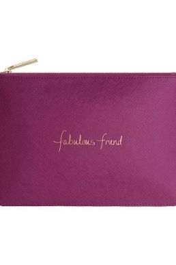 Katie Loxton Fabulous Friend Pouch Purple