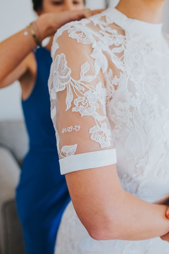 Phase Eight Poppy Lace Embroidered Wedding Dress