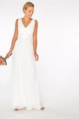 Showcase Bridal 'Rylee' Maxi Dress Ivory