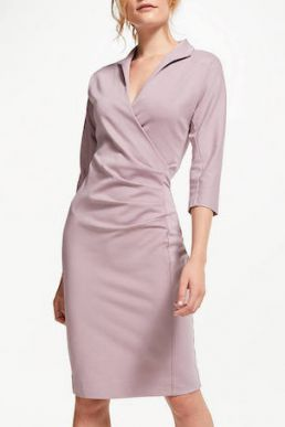 Winser London Grace Miracle Dress Pink Blush
