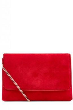 Hobbs Warwickshire Clutch Red